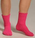 Hue Ribbed Chenille Sock 13011