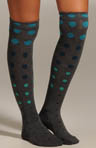 Spaced Dot Knee Sock