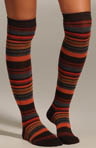 Multi Stripe Knee Sock