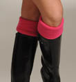 Hue Bootique Wellie Fleece Cuff Sock 13320