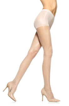 Hue So Silky Sheer Gloss With Control Top Pantyhose 13363