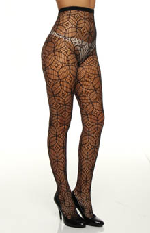 Geo Net Tights