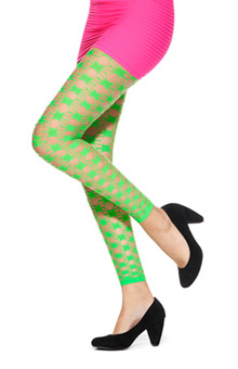 Designed by Emilio Cavallini Geo Net Tights