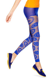Hue Designed by Emilio Cavallini Footless Tight 13596