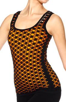 Hue Designed by Emilio Cavallini Seamless Crochet Tank 13601