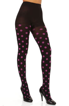 Hue Polka Dot Tights with Control Top 14075