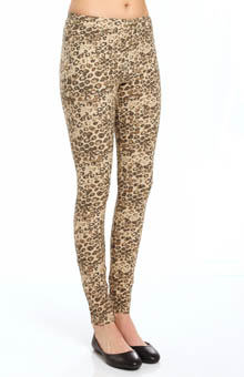 Hue Leopard Soft Skimmer Leggings 14277