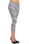 Leopard Cotton Capri Legging Image