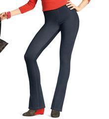 Hue Curvy Fit Jeans Boot Cut Leggings 14559