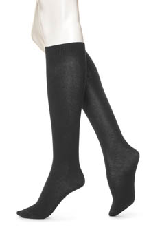Hue Flat Knit Knee Sock 5573