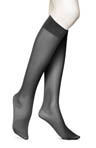 Mesh Knee High with Comfort Top Sock