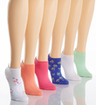 Cotton Liner Socks 6 - Pack