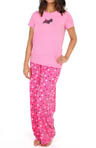 Hue Sequins Sparkling Scotty PJ Set PJ31599