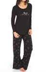 Hue Thermals Dogs In Love Thermal PJ Set PJ31617