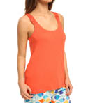 Hue Solid Sleep Tank With Macrame Straps PJ43102
