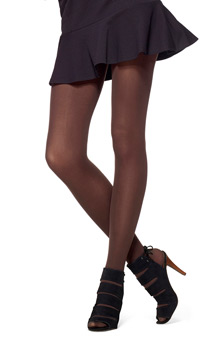 Hue Classic Rib Tights w/ Control Top U11924