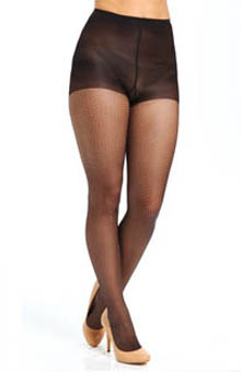 Hue Sheer Dot Tights with Control Top U13406