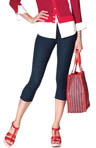 Hue The Original Jean Capri Leggings U13449
