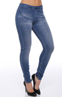 The Original Jeans Distressed Leggings