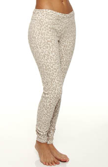 Leopard Jeans Leggings