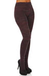 Hue Boho Crochet Sweater Tights U13740