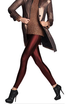 Hue Leatherette Leggings U13747