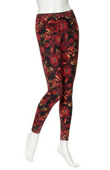 Hue Big Blooms Jeans Leggings U13778