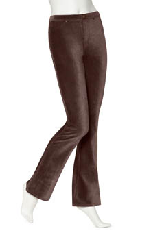 Hue Boot Cut Corduroy Leggings U13809