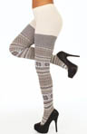 Hue Fairisle Sweater Tights U13902