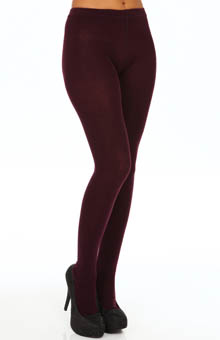 Hue Flat Knit Sweater Tights U13988