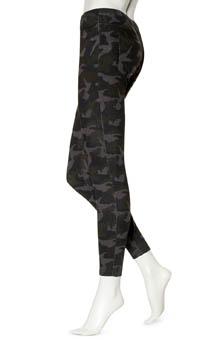 Hue Camo Print Jeans Leggings U14020