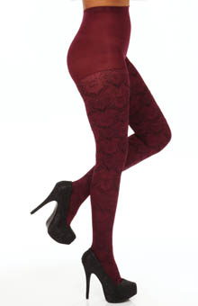 Hue Chandelier Tights w/ Control Top U14062