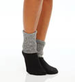 Hue Tweed Cuff Sock U14111