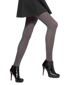 Hue Cable Knit Tights with Control Top U14541