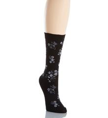 Hue Solid Femme Top Sock U14708