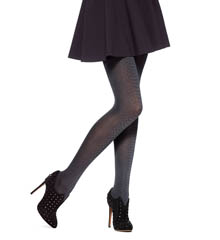 Hue Alligator Tights with Control Top U14797