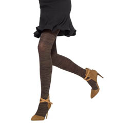 Hue Melange Tights U15001