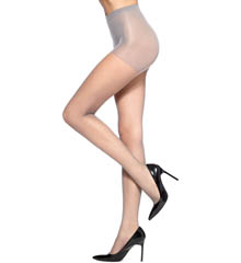 Hue Micro Mesh with Control Top Tights U5966N