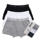 Basic Boxer Shorts with 2 Inch Inseam  - 3 Pack