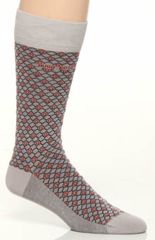 Cotton Modal Print Sock