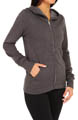 Solid Slim Fleece Zip Jacket Image