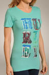 Hurley Circus Perfect Crew T-Shirt GTS0030