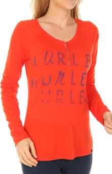 Gurley Henley Long Sleeve T-Shirt