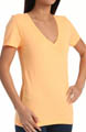 Solid Perfect V Neck Tee Image