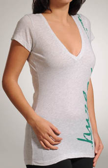 Down Side Perfect V-Neck T-Shirt