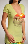 Hurley Setting Sun Perfect V-Neck T-Shirt GTSSSNP