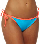 Hurley Block Party String Tie Side Swim Bottom H1053