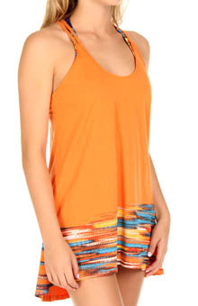 It's Electric Swim Cover Up Dress
