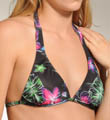 Hurley Moon Bloom Halter Swim Top H1333