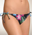 Moon Bloom String Tie Side Swim Bottom Image